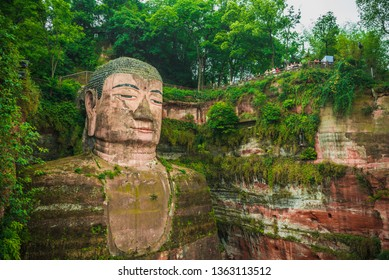Giant Budha, Leshan, China,  Asia