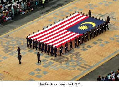 Giant Malaysian flag