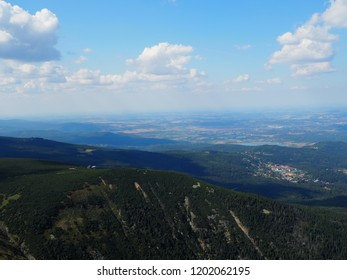 Giant Mountains, view from the top, Western Sudetes
