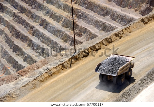 Giant Ore Truck at  Copper Mine