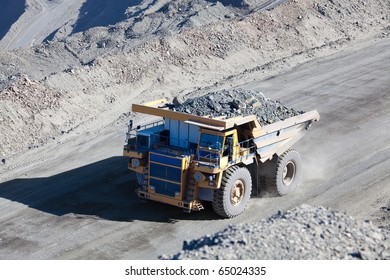 Giant Ore Truck at Gold Mine