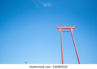 Giant Swing in bangkok thailand (Sao Chingcha)