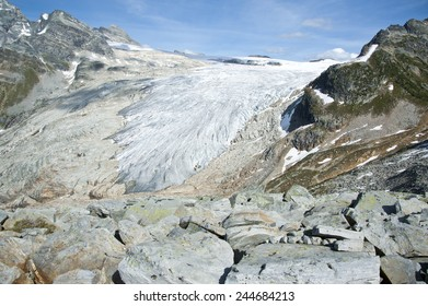 The giant tongue of the Illecillewaet in Glacier National Park, British Columbia