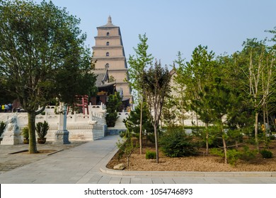 Giant Wild Goose Pagoda Big or Wild Goose Pagoda, is a Buddhist pagoda located in southern Xian (Sian, Xi'an), Shaanxi province, China