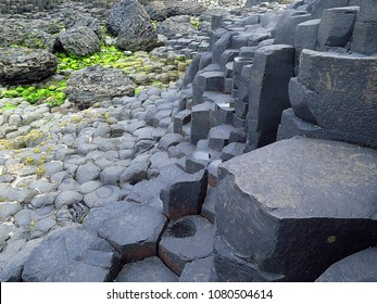 Giant's Causeway's Rock Formations