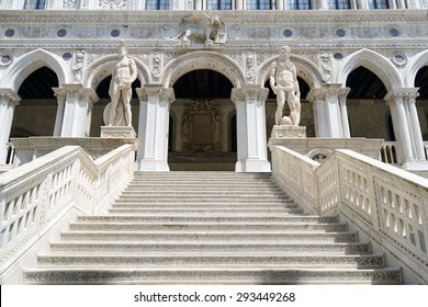 Giants' Staircase of the Doge's Palace, Venice, Palace