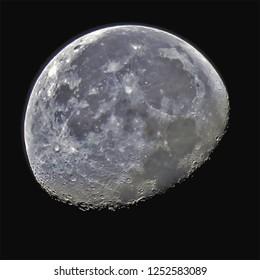 Gibbous Moon Edited