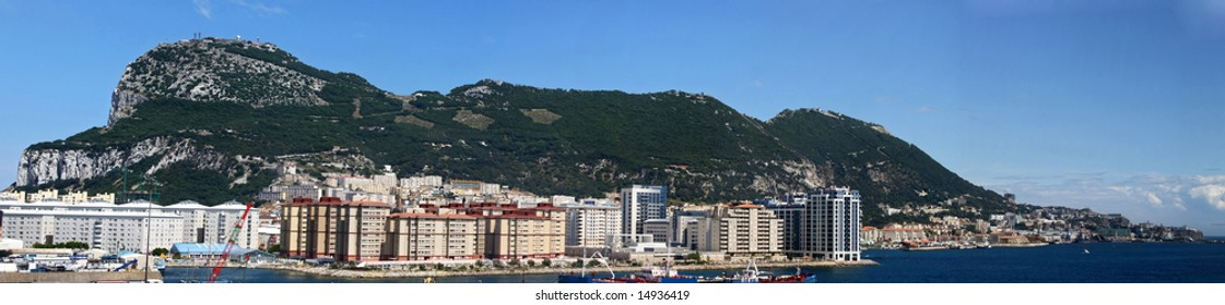 Gibraltar during the day