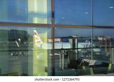 Gibraltar, Europe – December 22, 2018: Airport, Gibraltar, Europe