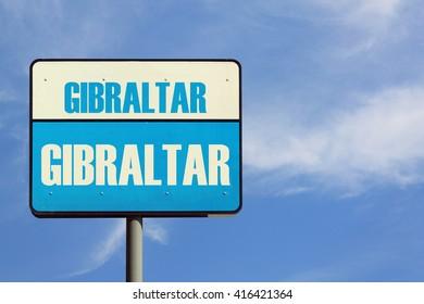 Gibraltar Sign
