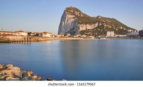 Gibraltar, United Kingdom. Iberian Peninsula
