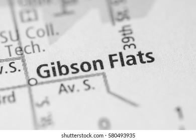 Gibson Flats. Montana. USA