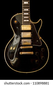 Gibson Les Paul from the late 50's with three humbuckers well worn in.