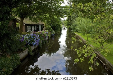 Giethoorn in the Netherlands