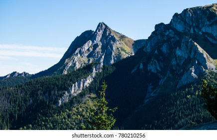 Giewont in Tatra mountains