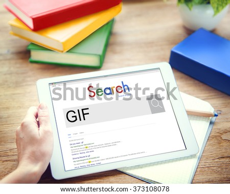 gif animated images graphics interchange format stock photo edit