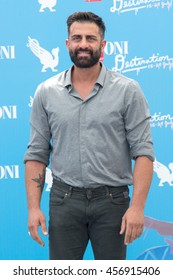 Giffoni Valle Piana, SA, ITALY - July 23, 2016: Actor Simone Montedoro at Giffoni Film Festival 2016 - on July 23, 2016 in Giffoni Valle Piana, Italy.