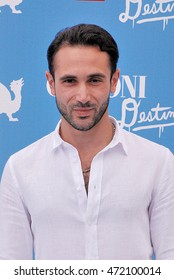 Giffoni Valle Piana, Sa, Italy - July 17, 2016: actor Marco Palvetti at Giffoni Film Festival 2016 - on July 17, 2016 in Giffoni Valle Piana, Italy
