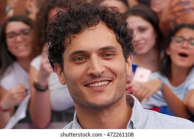 Giffoni Valle Piana, Sa, Italy - July 17, 2016:  actor Alessandro Tersigni  at Giffoni Film Festival 2016 - on July 17, 2016 in Giffoni Valle Piana, Italy