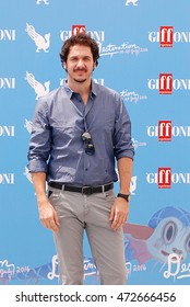Giffoni Valle Piana, Sa, Italy - July 18, 2016:  actor Gabriele Mainetti  at Giffoni Film Festival 2016 - on July 18, 2016 in Giffoni Valle Piana, Italy