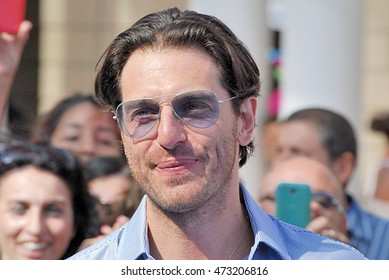 Giffoni Valle Piana, Sa, Italy - July 19, 2016: actor Giampaolo Morelli  at Giffoni Film Festival 2016 - on July 19, 2016 in Giffoni Valle Piana, Italy