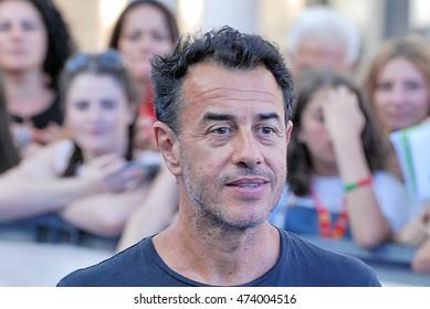 Giffoni Valle Piana, Sa, Italy - July 20, 2016: Matteo Garrone at Giffoni Film Festival 2016 - on July 20, 2016 in Giffoni Valle Piana, Italy