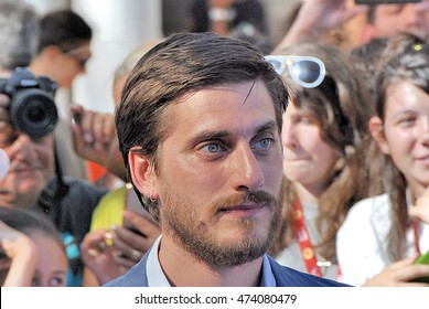 Giffoni Valle Piana, Sa, Italy - July 20, 2016: actor Luca Marinelli at Giffoni Film Festival 2016 - on July 20, 2016 in Giffoni Valle Piana, Italy