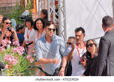 Giffoni Valle Piana, Sa, Italy - July 22, 2016: actor Nicholas Hoult at Giffoni Film Festival 2016 - on July 22, 2016 in Giffoni Valle Piana, Italy