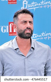 Giffoni Valle Piana, Sa, Italy - July 23, 2016:  actor Simone Montedoro at Giffoni Film Festival 2016 - on July 23, 2016 in Giffoni Valle Piana, Italy