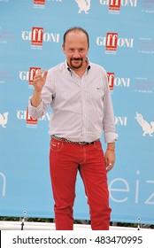 Giffoni Valle Piana, Sa, Italy - July 21, 2015: actor Maurizio Casagrande at Giffoni Film Festival 2015 - on July 21, 2015 in Giffoni Valle Piana, Italy