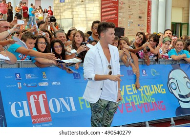 Giffoni Valle Piana, Sa, Italy - July 20, 2013 : Ruggero Pasquarelli  at Giffoni Film Festival 2013 - on July 20, 2013 in Giffoni Valle Piana, Italy