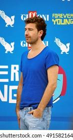 Giffoni Valle Piana, Sa, Italy - July 22, 2013 : Alessandro Siani at Giffoni Film Festival 2013 - on July 22, 2013 in Giffoni Valle Piana, Italy