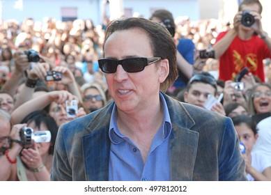 Giffoni Valle Piana, Sa, Italy - July 18, 2012 : Nicolas Cage at Giffoni Film Festival 2012 - on July 18, 2012 in Giffoni Valle Piana, Italy