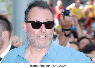 Giffoni Valle Piana, Sa, Italy - July 21, 2012 : Jean Reno  at Giffoni Film Festival 2012 - on July 21, 2012 in Giffoni Valle Piana, Italy