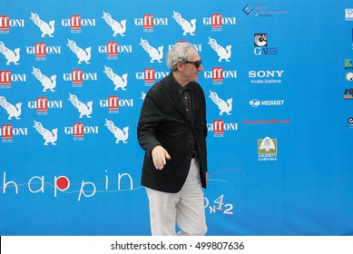 Giffoni Valle Piana, Sa, Italy - July 24, 2012 : Franco Battiato at Giffoni Film Festival 2012 - on July 24, 2012 in Giffoni Valle Piana, Italy