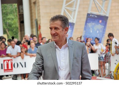Giffoni Valle Piana, Sa, Italy - July 16, 2011 : Ezio Greggio  at Giffoni Film Festival 2011 - on July 16, 2011 in Giffoni Valle Piana, Italy