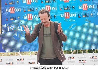 Giffoni Valle Piana, Sa, Italy - July 20, 2011 : Rocco Papaleo at Giffoni Film Festival 2011 - on July 20, 2011 in Giffoni Valle Piana, Italy