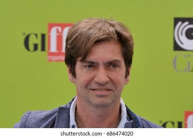 Giffoni Valle Piana, Sa, Italy - July 15, 2017 : Francesco Apolloni at Giffoni Film Festival 2017 - on July 15, 2017 in Giffoni Valle Piana, Italy