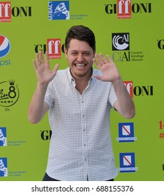 Giffoni Valle Piana, Sa, Italy - July 16, 2017 : Claudio Di Biagio at Giffoni Film Festival 2017 - on July 16, 2017 in Giffoni Valle Piana, Italy
