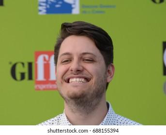 Giffoni Valle Piana, Sa, Italy - July 16, 2017 : Claudio Di Biagio at Giffoni Film Festival 2017 - on July 16, 2017 in Giffoni Valle Piana, Italy