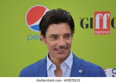 Giffoni Valle Piana, Sa, Italy - July 19, 2017 : Giuseppe Zeno at Giffoni Film Festival 2017 - on July 19, 2017 in Giffoni Valle Piana, Italy