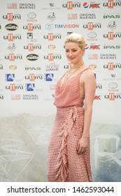 Giffoni Valle Piana, Salerno, Italy - 07/25/2019: AMBER HEARD AT GIFFONI FILM FESTIVAL 2019