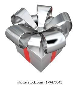 Gift box, 3D