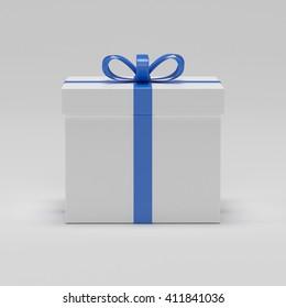Gift box 3d render