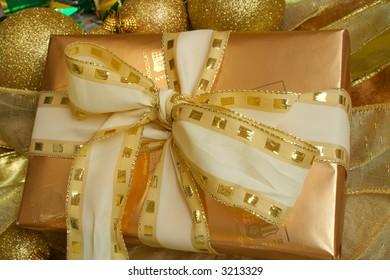 Gift Box of Chocolates at Christmas