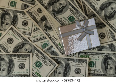 gift box money