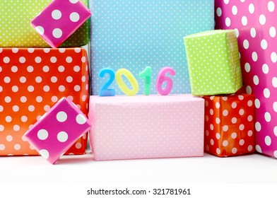 Gift box for the New Year