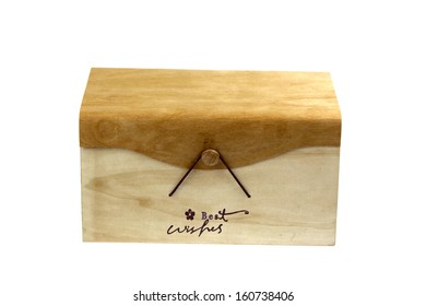 Gift box with a nice word