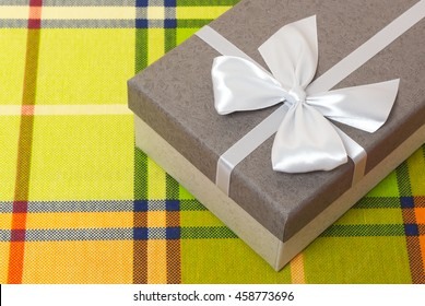 Gift box on the color table
