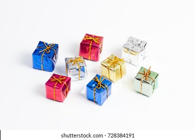 Gift box present for festival and party